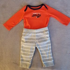 Carter's matching set for baby